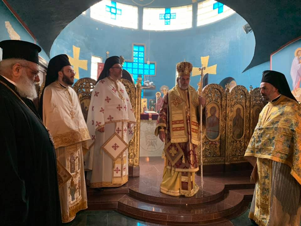 First anniversary of the election of Archbishop Nikitas