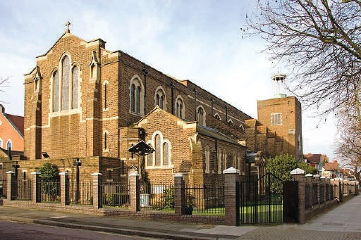The Greek Orthodox Cathedral of the Holy Cross and St. Michael, Golders Green