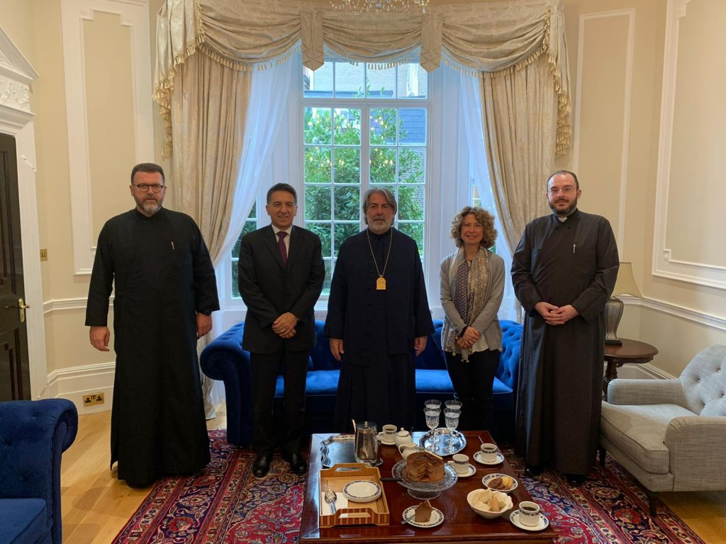 Visit of the new Ambassador of Greece in London