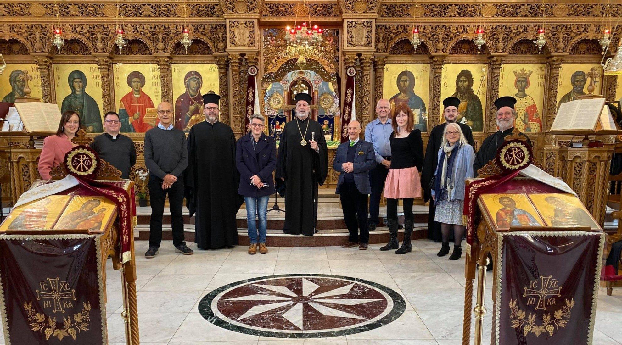Ο Αρχιεπίσκοπος Νικήτας με την Επιτροπή Ευαγγελισμού του Churches Together in England