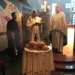 The Feast of the Entry of the Theotokos at the Archdiocesan Chapel