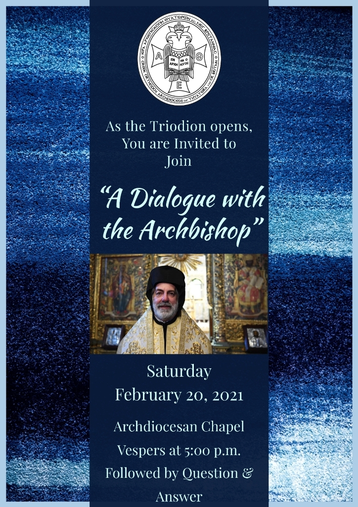 Dialogue with the Archbishop