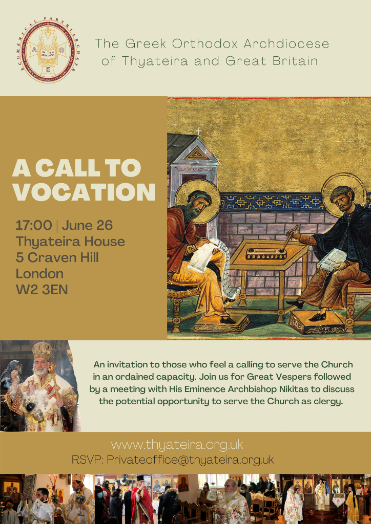 A call to vocation